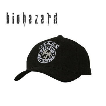 BIOHAZARD S.T.A.R.S キャップ 【バイオハザード resident evil】スターズ メンズ ミリタリー カジュアル アウトドア ゲーム RPD