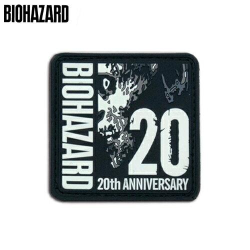 コレクション, その他 BIOHAZARD 20th ANNIVERSARY PATCH PVC resident evil CAPCOM