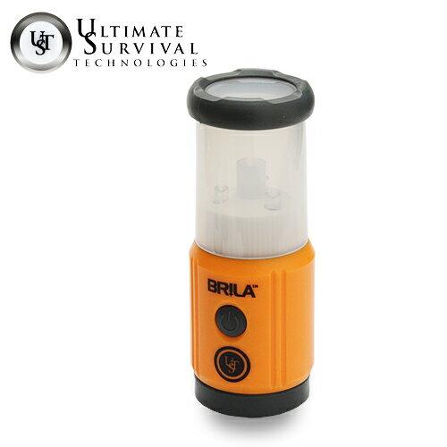 27 Lumens Orange Ultimate Survival Technologies UST Brila Mini LED Lantern