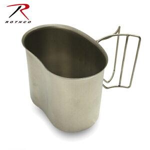 ROTHCO ステンレス キャンティーンカップ 【ロスコ CANTEEN CUP】ミリタリー アウトドア 1QT キャンティーン
