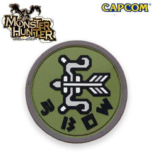 モンスターハンター パッチ / 弓 【モンスターハンター Monster Hunter カプコン capcom】メンズ ミリタリー カジュアル アウトドア ゲーム パッチパネル ワッペン画像