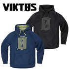 VIKTOSフォールバックフーディクロスハッチメンズミリタリーサバイバルゲームサバゲカジュアルプルオーバーパーカ
