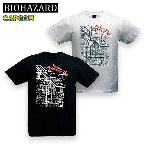 トップス, Tシャツ・カットソー BIOHAZARD RACCOON CITY T resident evil CAPCOM