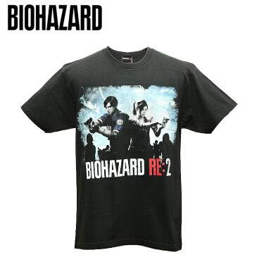 バイオハザード RE:2 ビジュアル Tシャツ【biohazard visual t-shirt】レオン クレア Resident Evil 生化危机 capcom カプコン