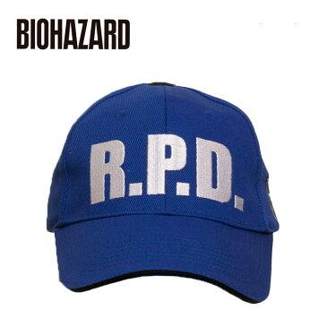 BIOHAZARD キラーキャップ / R.P.D.【バイオハザード killer cap】メンズ Raccoon Police Department ラクーン市警察 resident evil 生化危机