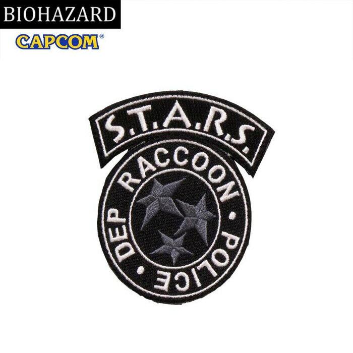 コレクション, その他 BIOHAZARD S.T.A.R.S. PATCH MONO wvelcro resident evil CAPCOM