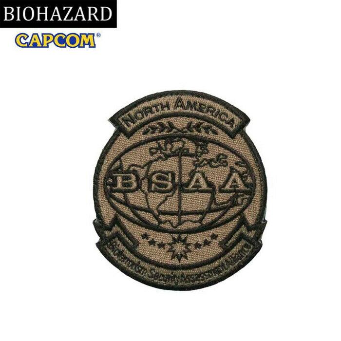 コレクション, その他 BIOHAZARD BSAA PATCH KHAKI wvelcro BSAA resident evil CAPCOM