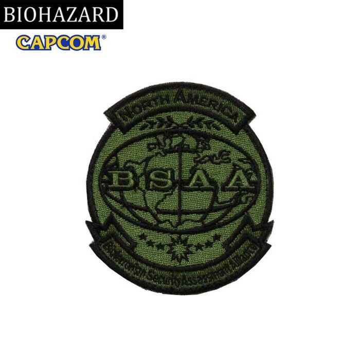 コレクション, その他 BIOHAZARD BSAA PATCH OD wvelcro BSAA resident evil CAPCOM