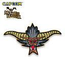 Monster Hunter PATCH / FACE RAJANG モンスターハンター フェイス ラージャン 刺繍 パッチ カプコン capcom メンズ ミリタリー カジュアル アウトドア ゲーム パッチパネル ワッペン 国内正規