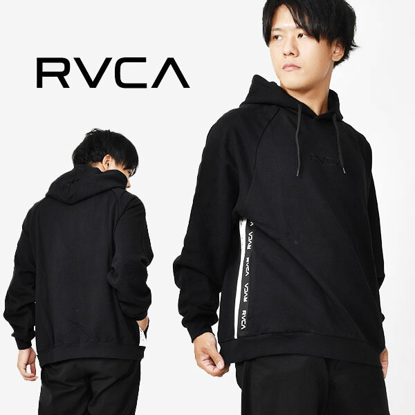 送料無料 プルオーバーパーカー RVCA ルーカ メンズ RVCA HOODIE ブラック 黒 ロゴ フーディー パーカー プルオーバー スケートボード スノーボード 2020秋冬新作 10%off