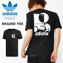 半袖 Tシャツ adidas ORIGINALS アディダス オリジナルス メンズ BRAZEE TEE ロゴTシャツ プリントTシャツ 2019夏新作 FUE21