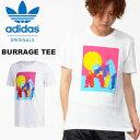 半袖 Tシャツ adidas ORIGINALS アディダス オリジナルス メンズ BURRAGE TEE プリントTシャツ 2019夏新作 FUE22