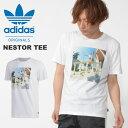 半袖 Tシャツ adidas ORIGINALS アディダス オリジナルス メンズ NESTOR TEE プリントTシャツ 2019夏新作 FUE76