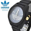 送料無料腕時計adidasORIGINALSアディダスオリジナルスメンズレディースSANTIAGOサンティアゴブラック×ゴールドーリストウォッチ2017春夏新作国内正規品