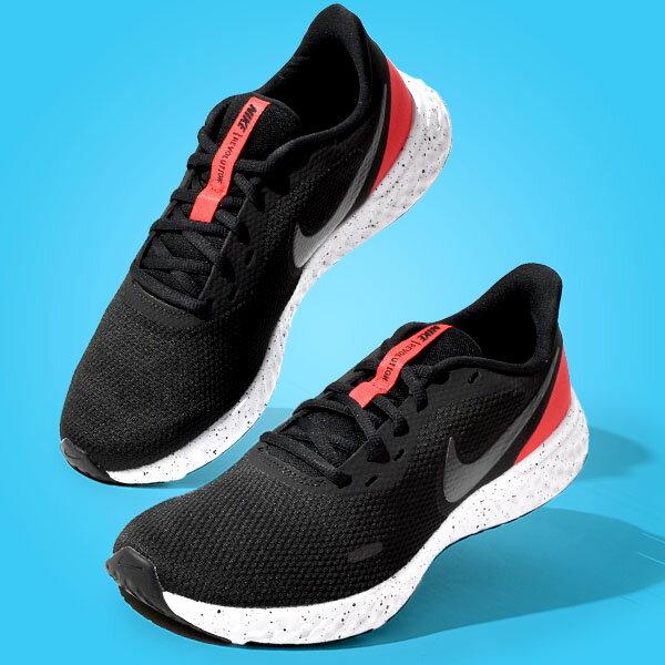 メンズ靴, スニーカー  NIKE 5 REVOLUTION BQ3204