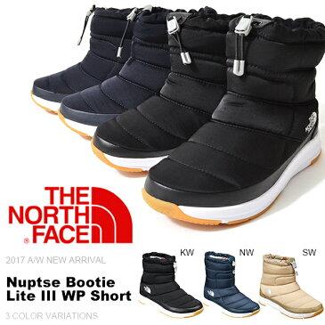 現品限り ラスト1点 送料無料 ヌプシ ショート ブーツ ザ・ノースフェイス THE NORTH FACE Nuptse Bootie Lite III WP Short ヌプシ ブーティー ライト III ウォータープルーフ レディース アウトドア スノー シューズ スノトレ 靴 nf51790 ザ ノースフェイス