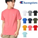 半袖TシャツチャンピオンChampionメンズT-SHIRTワンポイントクルーネックスポーツカジュアル2019春夏新作C3-P300