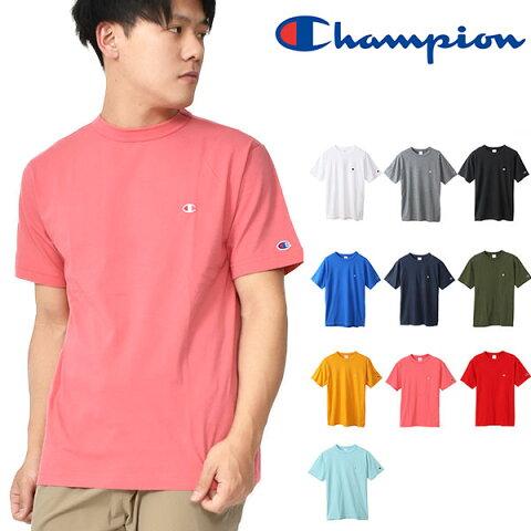 30%OFF ゆうパケット対応可能!半袖 Tシャツ チャンピオン Champion メンズ T-SHIRT ワンポイント クルーネック スポーツ カジュアル 2020春夏新色 C3-P300