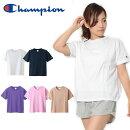 国内正規品半袖TシャツチャンピオンChampionレディースCREWNECKT-SHIRT無地スポーツカジュアル2019春夏新色CW-M32220%off
