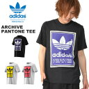 送料無料 半袖 Tシャツ adidas ORIGINALS アディダス オリジナルス メンズ ARCHIVE PANTONE TEE ビッグロゴ プリントTシャツ 2019秋新作 GDD70