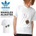 JOSH MANOLES コラボ 半袖 Tシャツ adidas ORIGINALS アディダス オリジナルス メンズ MANOLESALIASTEE プリントTシャツ 2019秋新作 GDP38