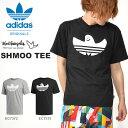半袖 Tシャツ adidas ORIGINALS アディダス オリジナルス メンズ SHMOO TEE マークゴンザレス コラボ ロゴTシャツ プリントTシャツ 2019秋新作 GDP85
