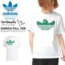 半袖 Tシャツ adidas ORIGINALS アディダス オリジナルス メンズ SHMOO FILL TEE マークゴンザレス コラボ ロゴTシャツ プリントTシャツ 2019秋新作 GDP86