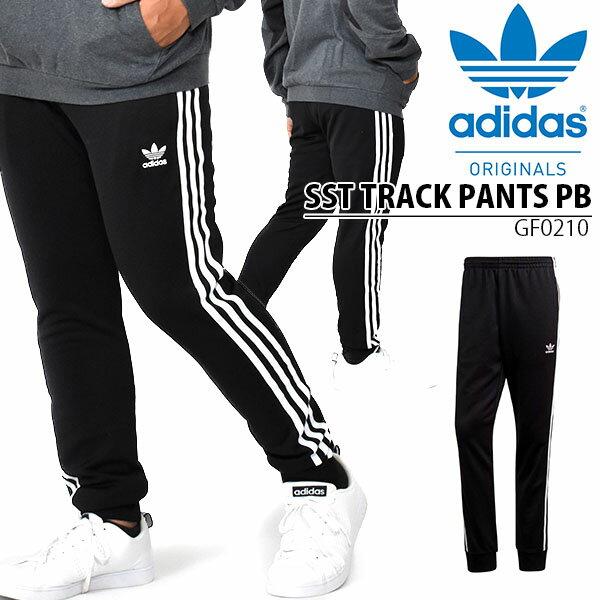 メンズファッション, ズボン・パンツ  adidas ORIGINALS SST TRACK PANTS PB 3 20OFF IZN66