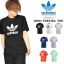 送料無料 半袖Tシャツ adidas Originals アディダス オリジナルス メンズ レディース HERI TREFOIL TEE クルーネック ロゴ プリント シャツ ロゴTシャツ プリントTシャツ EKF76 2019夏新色