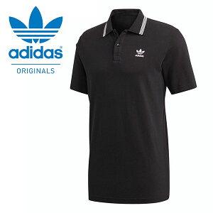 送料無料 半袖 ポロシャツ adidas ORIGINALS アディダス オリジナルス メンズ PIQUE POLO ワンポイント ロゴ ブラック 黒 2020春新作 GVT94
