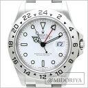 ◆ロレックス ROLEX◆ エクスプローラー2 16570 D番 メンズ ホワイト/34669 【中古】 【クリーニング済】 腕時計
