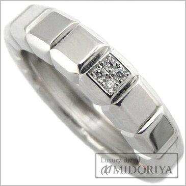 ショパール CHOPARD アイスキューブリング ダイヤモンド 82/3789 10号 750WG 18金ホワイトゴールド 指輪/096443【中古】【クリーニング済】
