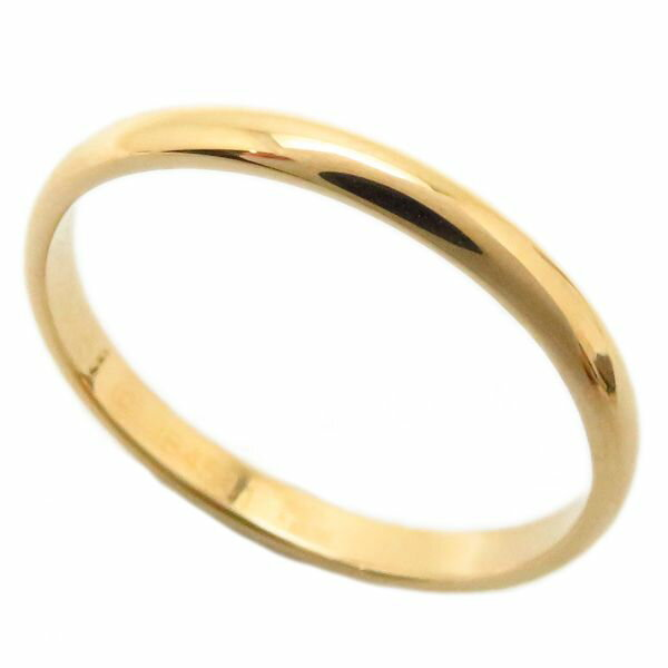 authentic cartier 750 yellow gold band ring engraved 58 93915 ebay. Black Bedroom Furniture Sets. Home Design Ideas