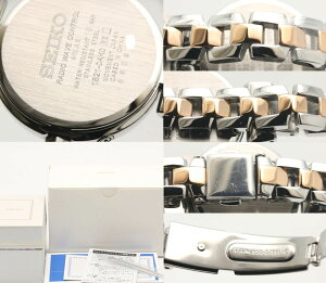 セイコー☆未使用SEIKOティセ電波ソーラーレディースSWFH043TISSEピンク/33520【】腕時計