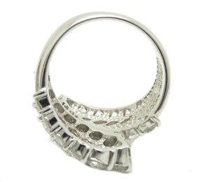 【10月29日9:59迄スマホからエントリーでポイント10倍!】指輪ダイヤモンド3.73ctリング13.5号Pt900/62979【】
