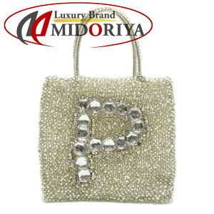 [Fashion The SALE Limited Price] ANTEPRIMA Wire Bag Handbag PVC Wire Light Khaki P/056063 [Used]