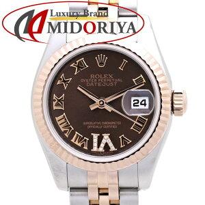 ROLEX Rolex Datejust Ladies 179171VI K18PG/SS G No. Chocolate Diamond Dial /37149 [Used] Watch