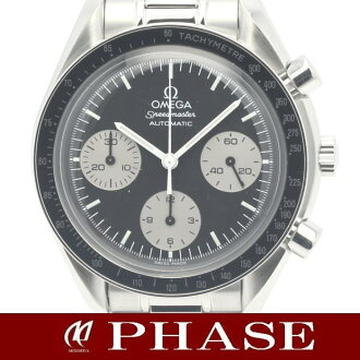 Omega 3510.52 Speedmaster ☆ Japan limited SS black machine production discontinued products mens automatic winding / 31248