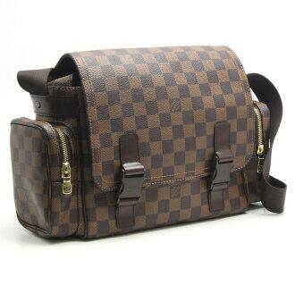 Louis Vuitton N51126 Damier Reporter Merveilles Shoulder Bag/18180