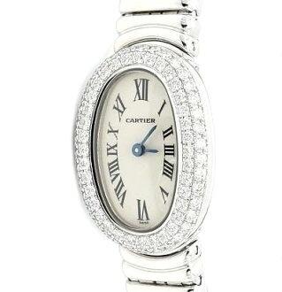 Cartier ミニベニュワール WG solid DIA Basel WB5095L2 ladies quartz / 31445 fs3gm