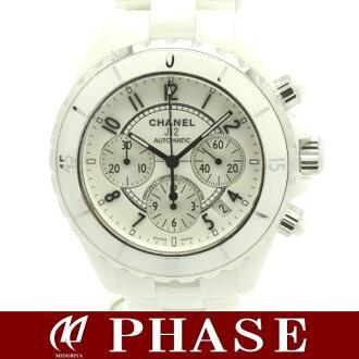 CHANEL H1007 J12 chronograph white ceramic /30496