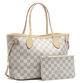 Louis Vuitton Tote Bag damieazur neverfull PM N41362/18516 Azul white white LOUIS VUITTON Louis Vuitton Vuitton bags