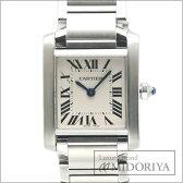 カルティエ Cartier タンクフランセーズSM W51008Q3 アイボリー文字盤 レディース/34196 【中古】 腕時計
