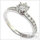 ティファニー TIFFANY チャネルセッティングソリティアリング ダイヤモンド Pt950 11.5号 プラチナ 指輪/95749【中古】