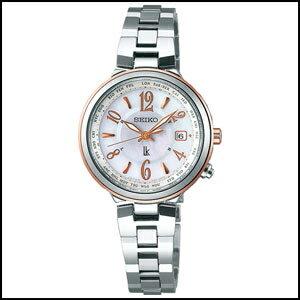 セイコー ルキア ソーラー 電波 時計レディース 腕時計 SSVV034