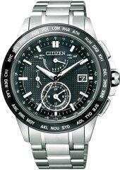 AT9044-51E CITIZEN シチズン ATTESA アテッサ メンズ腕時計 エコドライブ 電波時計 ダブルダイ...