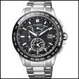CITIZEN シチズン アテッサ ダブルダイレクトフライト ソーラー 電波 時計 メンズ 腕時計 AT9044-51E