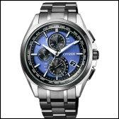 新品 即日発送CITIZEN シチズン アテッサ LIGHT in BLACK ダイレクトフライト 限定 モデル ソーラー 電波 時計 メンズ 腕時計 AT8044-72L