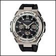 CASIO カシオ Gショック Gスチール ソーラー 電波 時計 メンズ 腕時計 GST-W110-1AJF