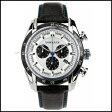 新品 即日発送 VERSACE ヴェルサーチ V-レイ クロノグラフ レザー ベルト メンズ 腕時計 VDB010014